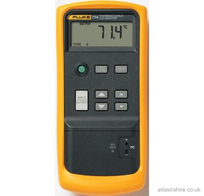 Hire a Fluke 712 from £5 a day minimum hire 7 days